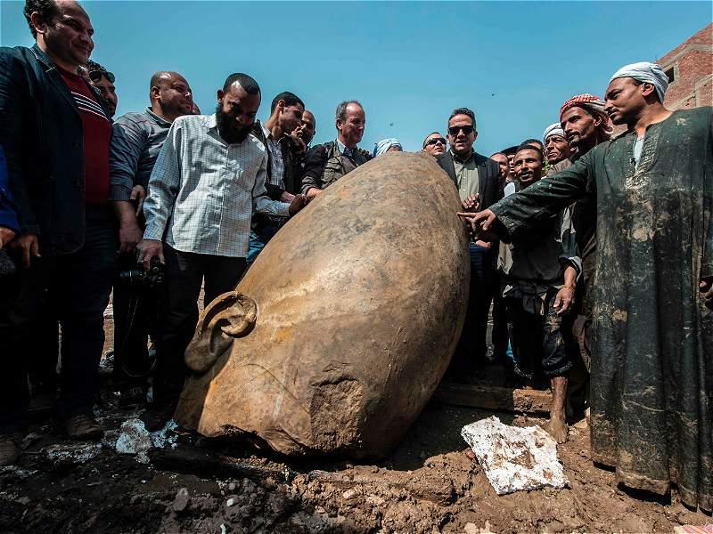 Descubren gigantescas estatuas de los faraones egipcios más poderosos de la historia