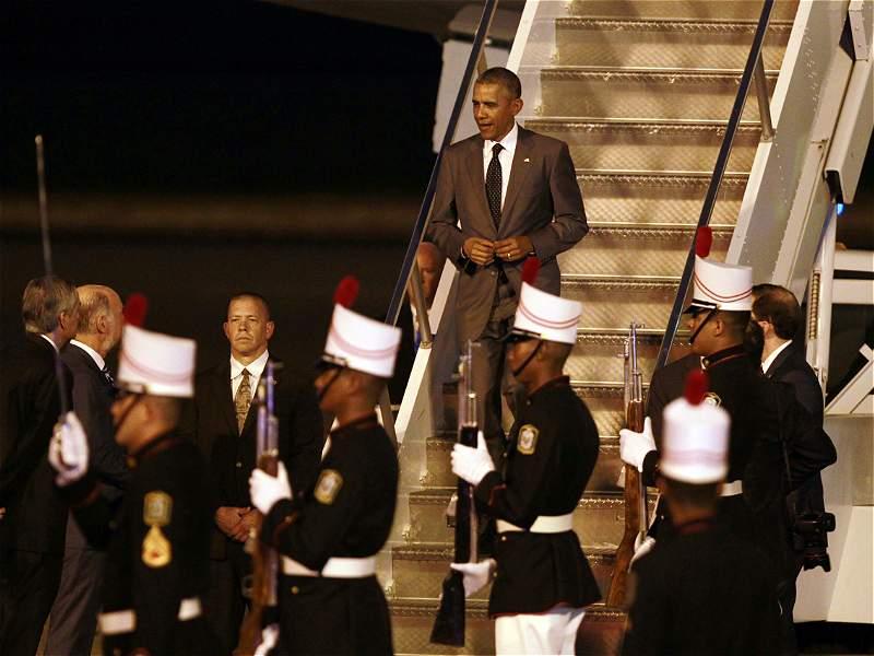 Llegada de presidentes a Panamá para Cumbre de las Américas