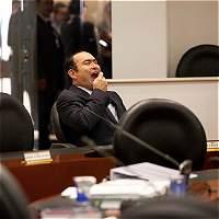 ¿De que se ríe Jorge Pretelt?