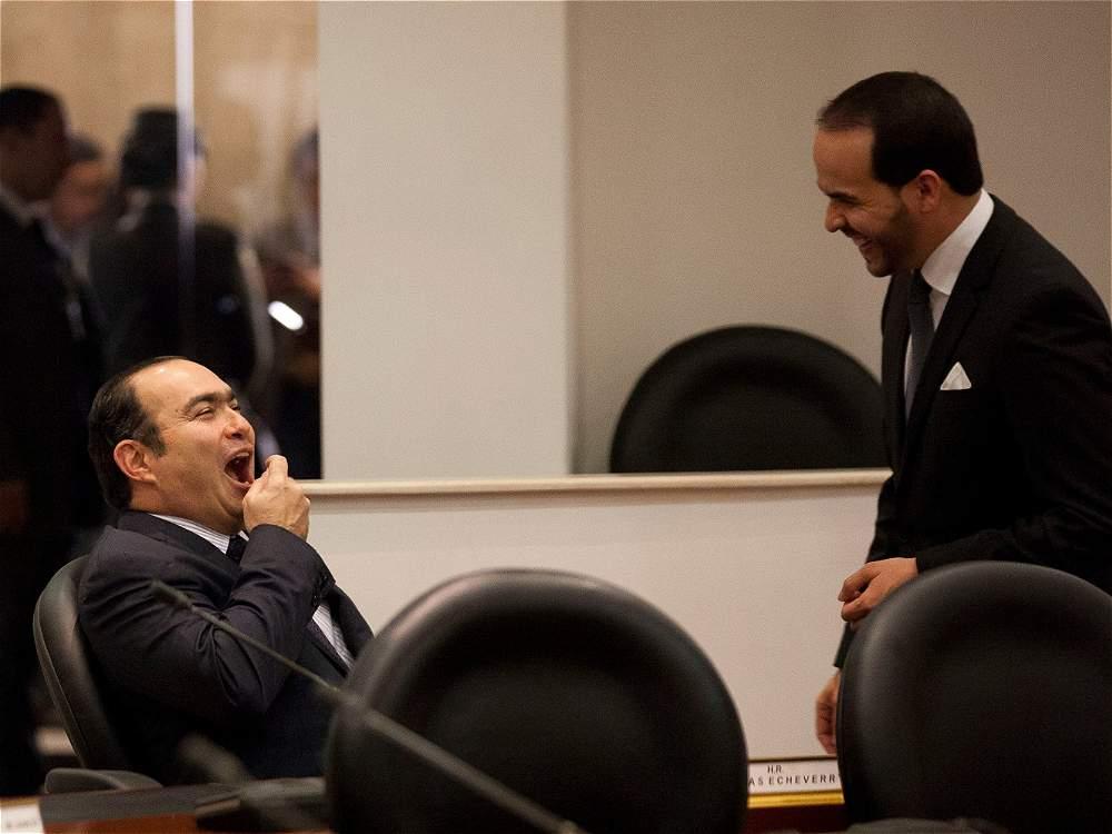 ¿De que se ríe Jorge Pretelt y Abelardo de la Espriella?