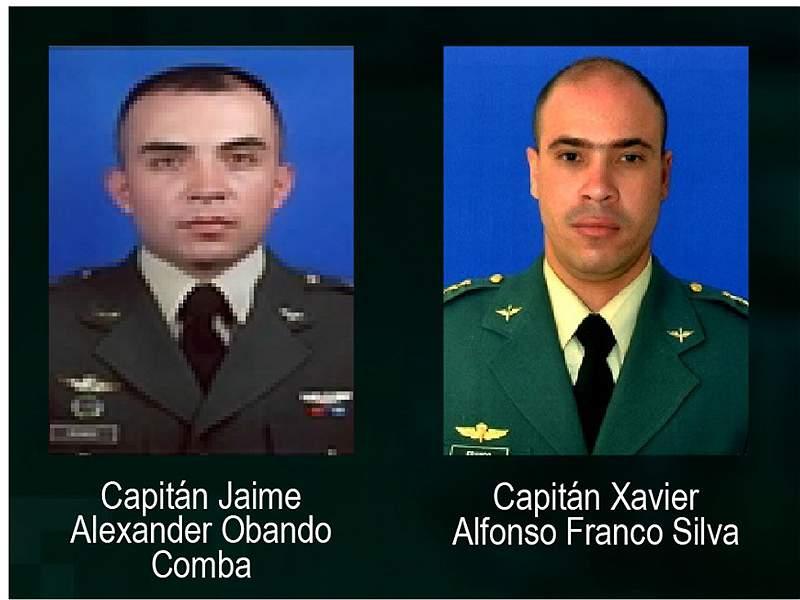Los rostros de los 17 militares que murieron en el accidente de helicóptero en Caldas