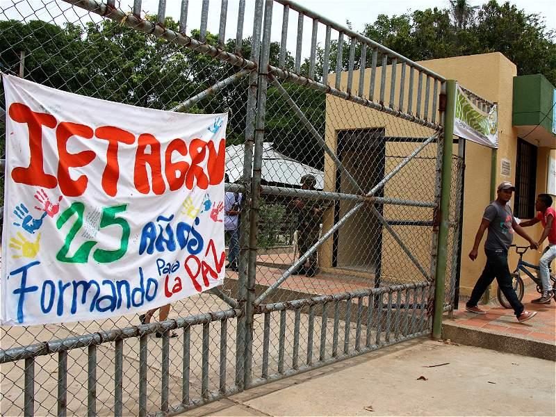 Así se vivió la jornada de votaciones en Conejo, Guajira