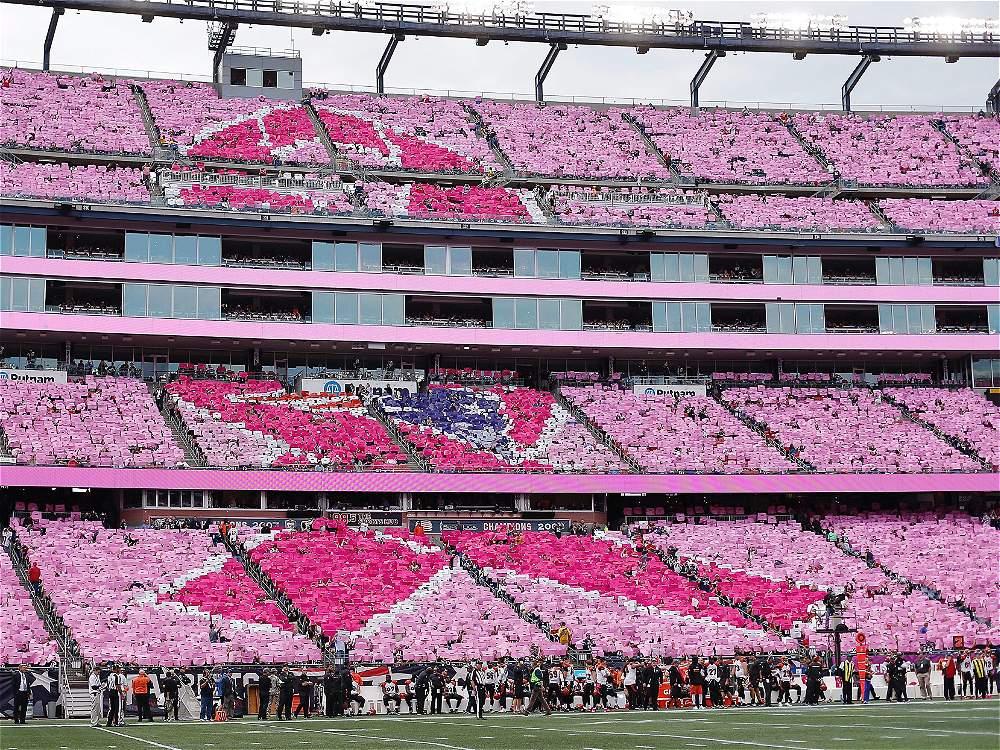 Partido entre Cincinnati Bengals y New England Patriots
