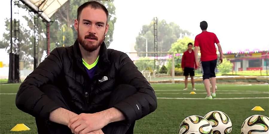 Los bogotanos que mezclan fútbol y tecnología para mantenerlo en forma física