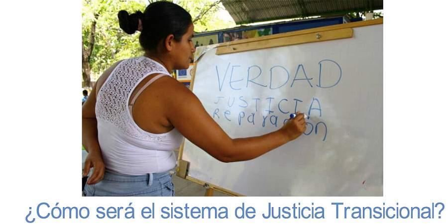 Las claves de cómo funcionará la justicia transicional