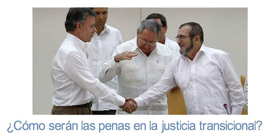 Estas serán las penas alternativas en la justicia transicional