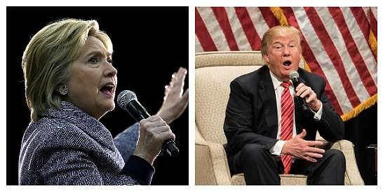Clinton y Trump, más cerca de las nominaciones presidenciales
