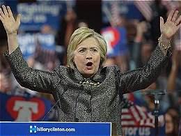 Hillary Clinton, la virtual nominada por el Partido Demócrata