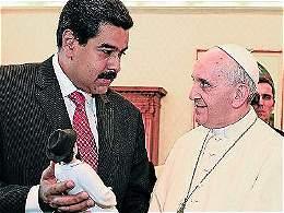El Papa, muy preocupado por Venezuela, envía carta a Maduro