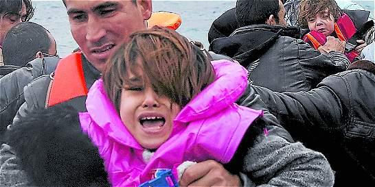 Nueve de cada diez niños inmigrantes que llegan a Europa están solos