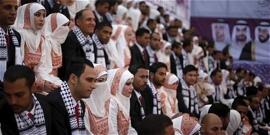 Temporada de bodas se siente fuerte en el bolsillo de los palestinos