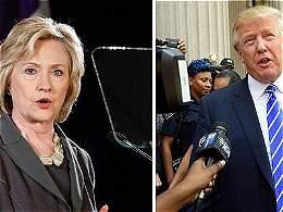 Clinton se prepara para un debate 'chiflado' con Trump