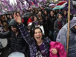 'Ni una menos': el grito de las mujeres latinoamericanas