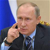 Putin, en tensión con occidente, ofrece el olivo a Donald Trump