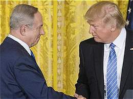 Trump relativiza su apoyo a creación de un Estado palestino