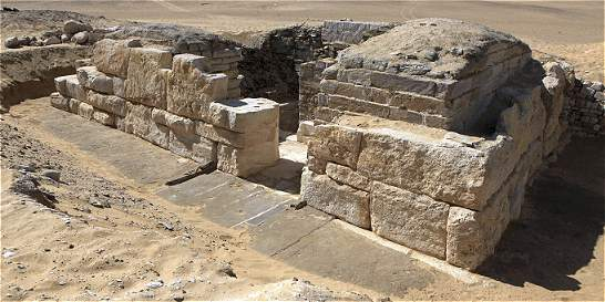 Hallan en Egipto la tumba de una faraona desconocida