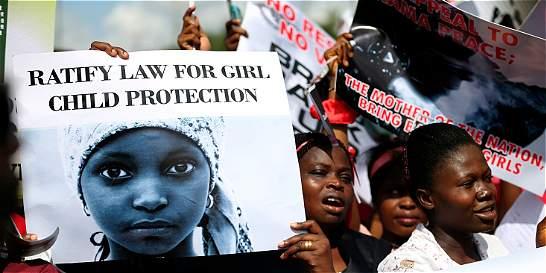 Nigeria dice haber rescatado otra niña de las raptadas por Boko Haram
