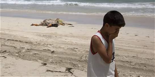 Aparecieron cerca de 117 cadáveres de migrantes en playa de Libia