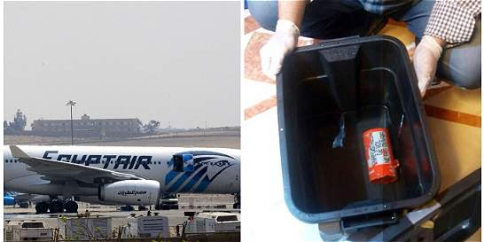 Siguen pistas de audio de caja negra de vuelo de Egyptair