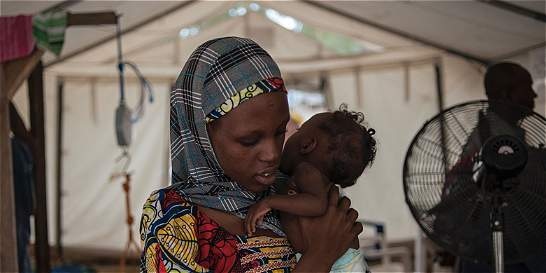 El hambre se ceba con los niños desplazados por Boko Haram en Nigeria