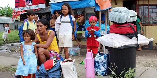 Filipinas está a la espera del tifón Hagupit