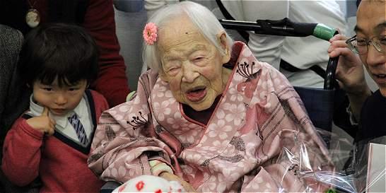 Murió Misao Okawa, la mujer más vieja del mundo