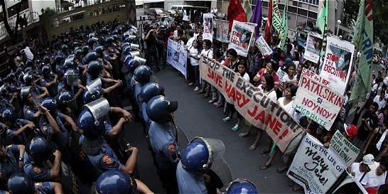 Indonesia ya ejecutó a los ocho condenados, la mujer filipina se salvó