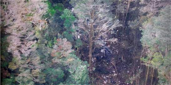 Hallan los 54 cadáveres de los ocupantes del avión estrellado en Papúa