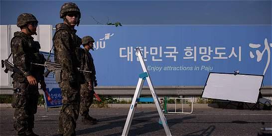 Las dos Coreas continúan negociaciones para evitar crisis militar
