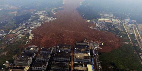Búsqueda contrarreloj de 85 desaparecidos por alud en China