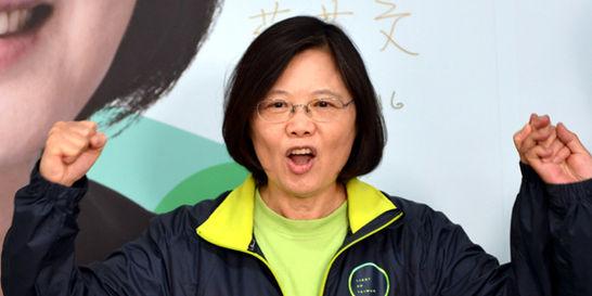 China, enfurecida tras elección de presidenta en Taiwán