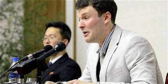 La dura condena a estudiante por un afiche en Corea del Norte