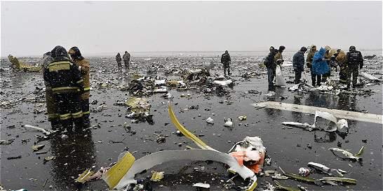 Una colombiana, entre la tripulación del avión siniestrado en Rusia