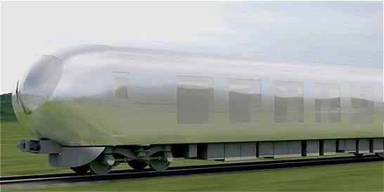 Un 'tren invisible' recorrerá Japón a partir de 2018