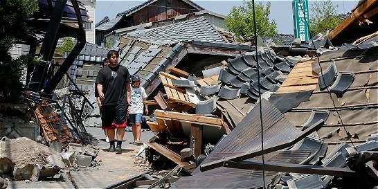 Fuerte sismo en Japón, el segundo en menos de 24 horas