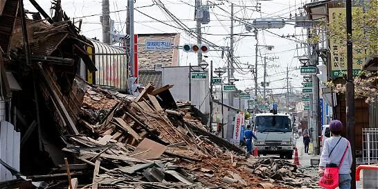 Serie de sismos causa al menos 41 muertos en Japón
