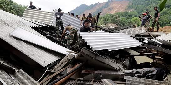 Aumenta a 42 el número de muertos en Sri Lanka por las lluvias