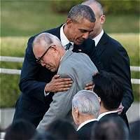 Obama pide un mundo sin armas nucleares en Hiroshima