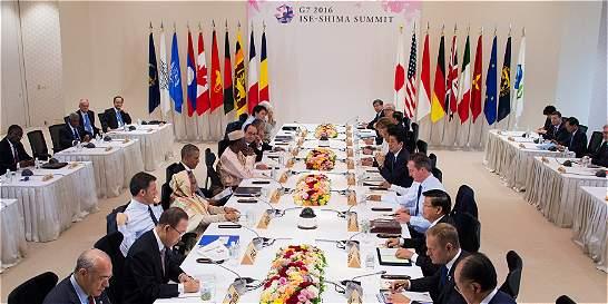 G7 consideró 'prioridad urgente' el crecimiento económico mundial