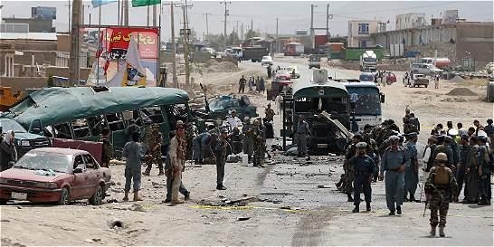 Al menos 38 muertos y 40 heridos en un doble atentado suicida en Kabul