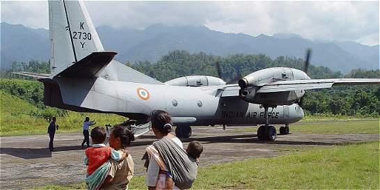 Desaparece un avión de las Fuerzas Aéreas de la India