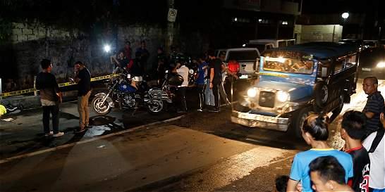 ONU denuncia aumento de ejecuciones en campaña antidroga en Filipinas