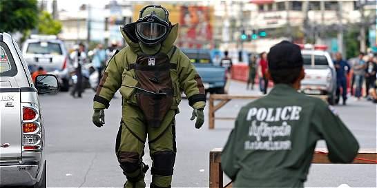 Múltiples explosiones en Tailandia dejan cerca de 30 personas heridas