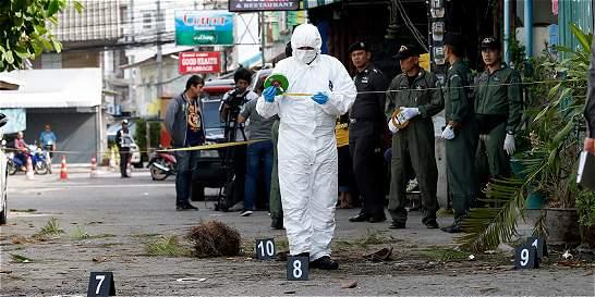 Cadena de explosiones en Tailandia deja cuatro muertos