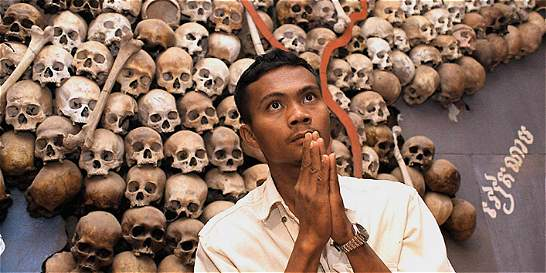 Historia del genocidio camboyano escrita en los huesos de las víctimas