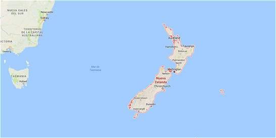 Fuerte sismo de magnitud 7,1 sacude a Nueva Zelanda