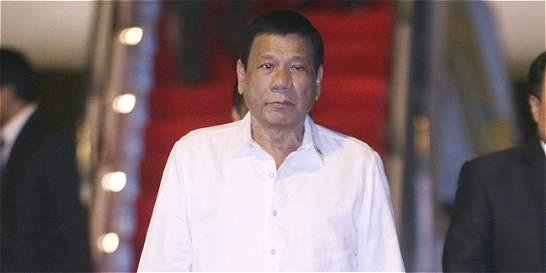 Duterte proclama el estado de emergencia nacional en Filipinas