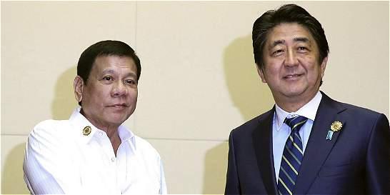 Japón dará armas a Filipinas, que está en disputa marítima con China