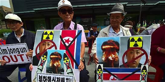 Corea del Norte está lista para otro ensayo nuclear, dice Seúl