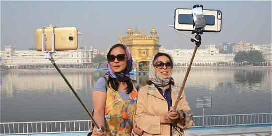 India tiene el récord mundial de 'muertos por tomar selfis'